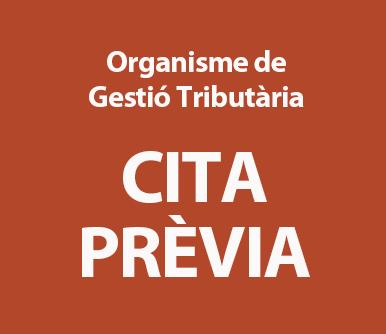 Organisme de Gestió Tributària - CITA PRÈVIA