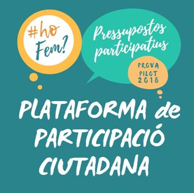 plataforma de participació