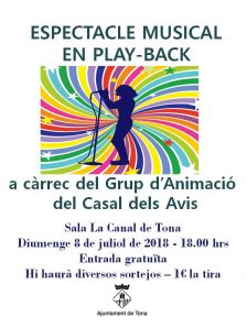 Festival play-back
