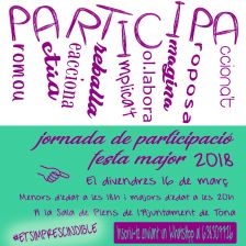 Jornada participació FME2018