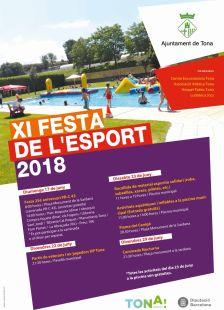 Festa de l'esport 2018