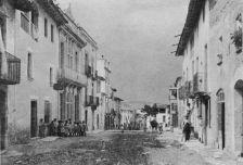 Fotografia antiga dels carrers Barcelona i Major