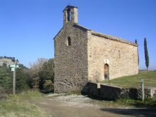 Vista de l'Ermita de Vilageriu